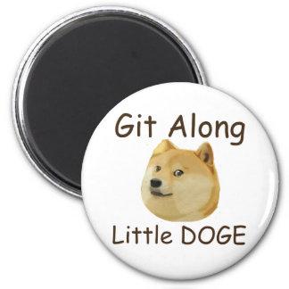 Git Along Little DOGE Magnet