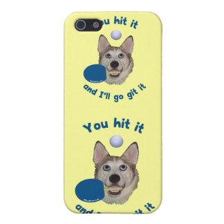 Git él perro del ping-pong iPhone 5 protector