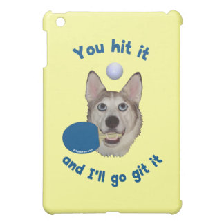 Git It Ping Pong Dog iPad Mini Cover