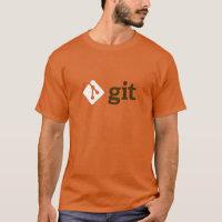 Git T-Shirt (Orange)