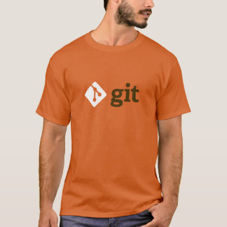 Git T-Shirt (Orange)