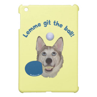 Git the Ball Ping Pong Dog Case For The iPad Mini