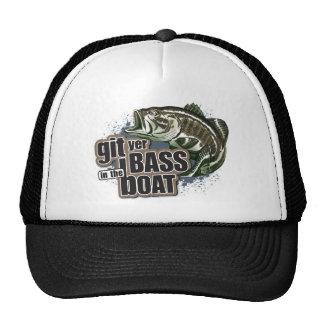 Git Yer Bass in the Boat Trucker Hats