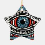 Gitano azul ornamentos de reyes