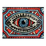 Gitano azul tarjetas postales