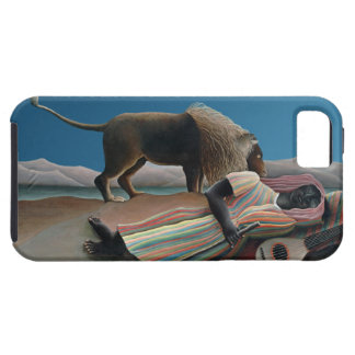 Gitano durmiente - arte del vintage de Rousseau iPhone 5 Case-Mate Protectores