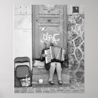 Gitano parisiense póster