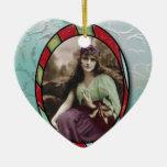Gitano romántico del vintage ornamento para reyes magos