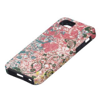 Gitano rosado de la moda de Boho iPhone 5 Case-Mate Fundas