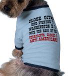 GitMo cercano envía cada uno al Washington DC Ropa Perro