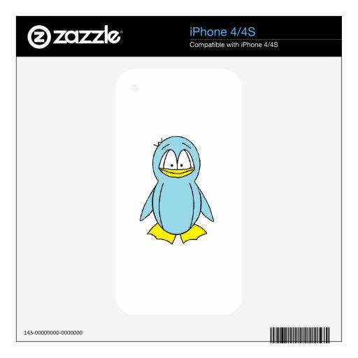 Gito el pingüino calcomanías para el iPhone 4S