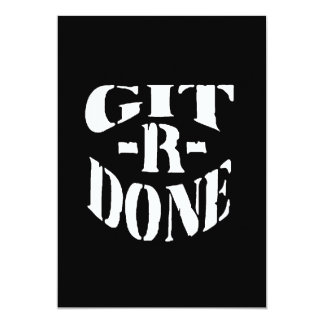 Gitrdone Card
