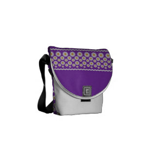 Gitta Messenger Bag - Grape Mini