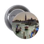 Giudecca Canal Pinback Buttons