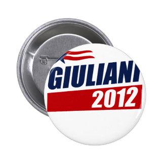 Giuliani 2012 pinback button