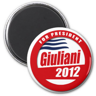 Giuliani 2012 button fridge magnet