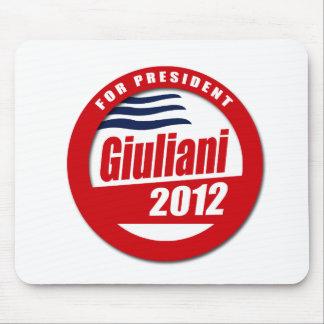 Giuliani 2012 button mousepad