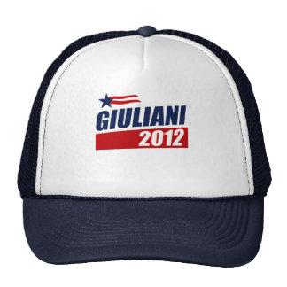 Giuliani 2012 gorras de camionero