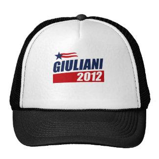 Giuliani 2012 gorros bordados