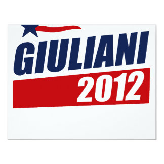Giuliani 2012 invites