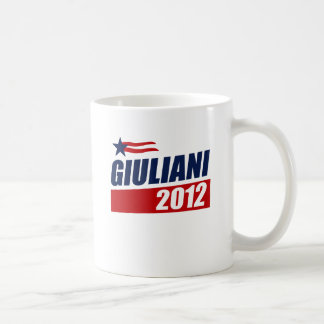 Giuliani 2012 classic white coffee mug