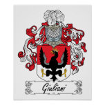 Giuliani Family Crest Poster
