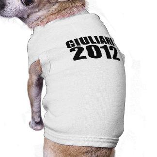 Giuliani in 2012 doggie t shirt