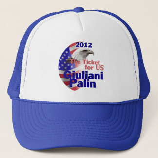 Giuliani Palin 2012 Hat