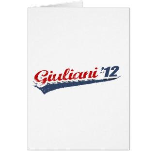 Giuliani Team Greeting Cards