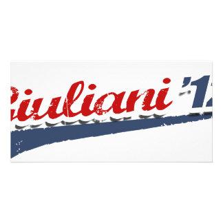 Giuliani Team Customized Photo Card