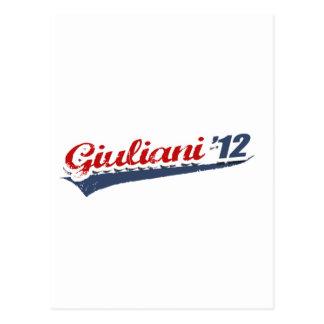 Giuliani Team Post Card