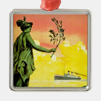 Giulio Cesare ~ Sud America Express Metal Ornament