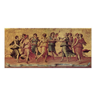 Giulio Romano - Dance of Apollo with the Muses Posters