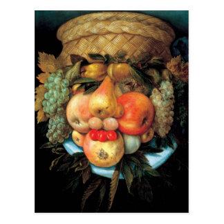 Giuseppe Arcimboldo - cesta de fruta Postales