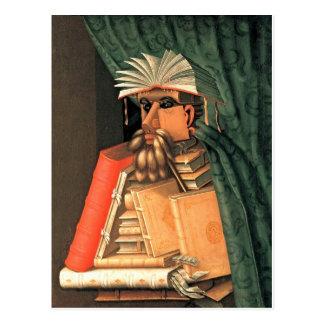 Giuseppe Arcimboldo -- el bibliotecario Postal