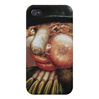 Giuseppe Arcimboldo - el verdulero iPhone 4/4S Funda