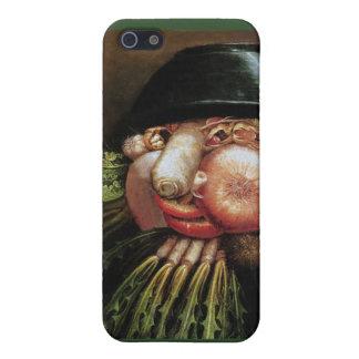 Giuseppe Arcimboldo - el verdulero iPhone 5 Carcasa
