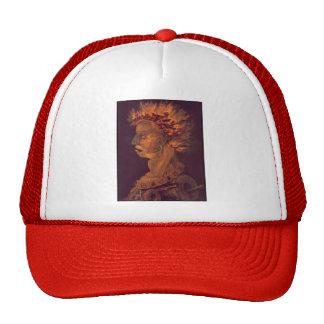 Giuseppe Arcimboldo- Fire Trucker Hats