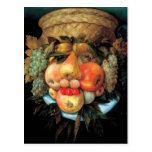 Giuseppe Arcimboldo - Fruit Basket Postcard