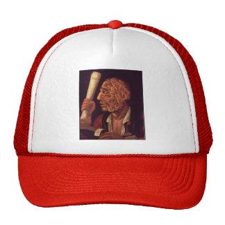 Giuseppe Arcimboldo- Portrait of Adam Mesh Hat