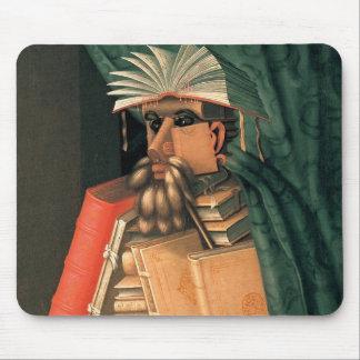 Giuseppe Arcimboldo's Librarian Mouse Pad