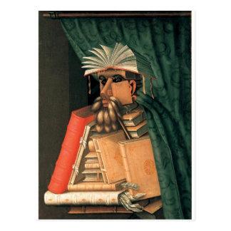 Giuseppe Arcimboldo's Librarian Postcard
