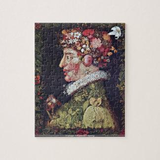 Giuseppe Arcimboldo - Spring puzzle