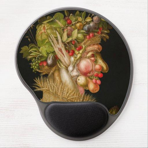 Giuseppe Arcimboldo - Summer Gel Mouse Pad