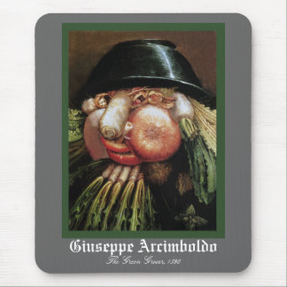 Giuseppe Arcimboldo - The Green Grocer Mouse Pad