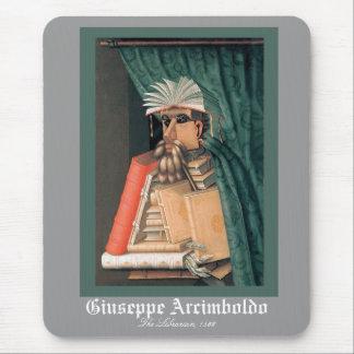 Giuseppe Arcimboldo - The Librarian Mouse Pad