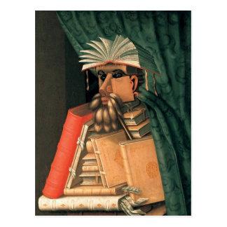 Giuseppe Arcimboldo - The Librarian Postcard