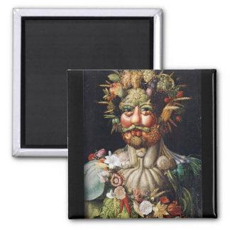 Giuseppe Arcimboldo Vegetable Man (Vertumnus) Refrigerator Magnets