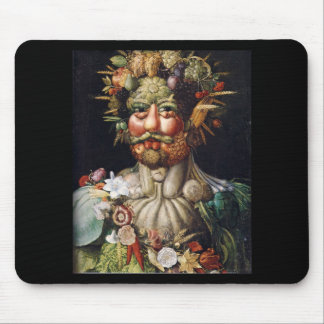 Giuseppe Arcimboldo Vegetable Man (Vertumnus) Mousepads
