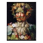 Giuseppe Arcimboldo Vegetable Man (Vertumnus) Post Card